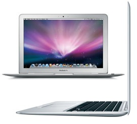 MacBook Air 13.3 INCH (NVIDIA) 1.86 GHz Core 2 Duo (SL9400) A1304 - 2253 MB940LL/A