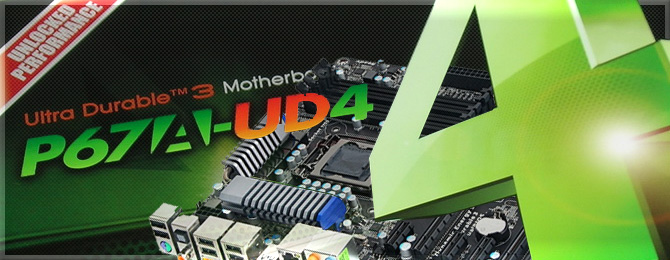Review bo mạch chủ Gigabyte P67A-UD4