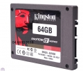 "SSD KINGTON 64GB / 2.5"" / Read up to 450MB / Write up to 450MB"