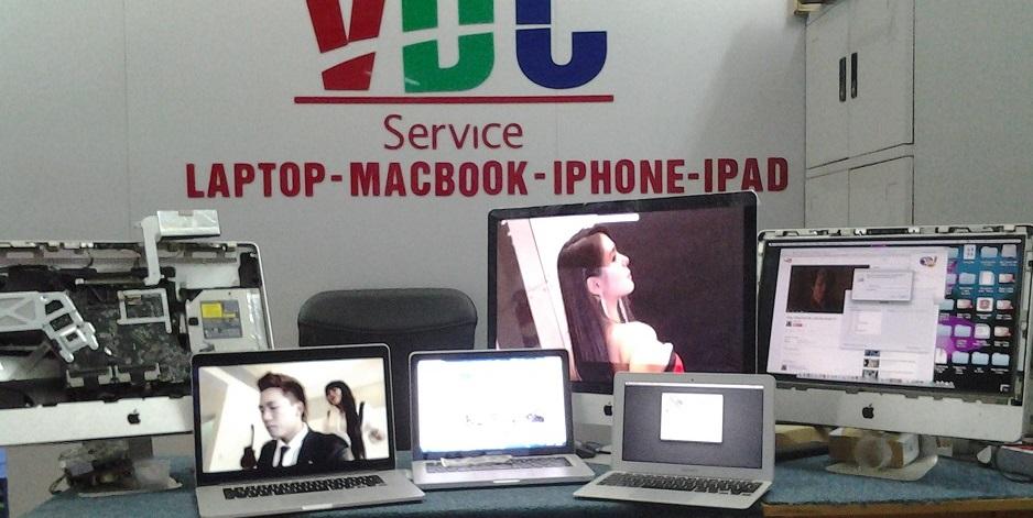 Chạy kiểm tra kỹ thuật sau khi sửa macbook imac