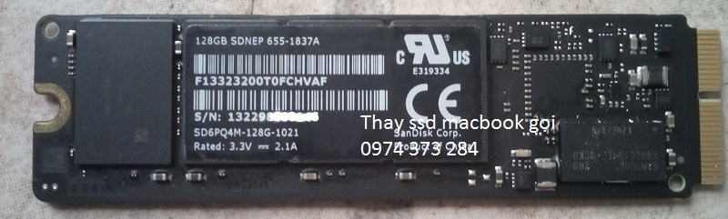 Ổ ssd macbook A1465 2012